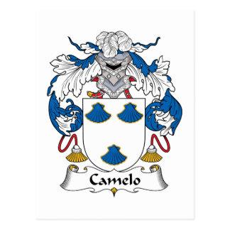 Crista da família de Camelo Cartao Postal