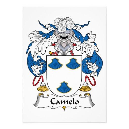 Crista da família de Camelo Convite