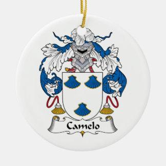 Crista da família de Camelo Ornamentos Para Arvore De Natal