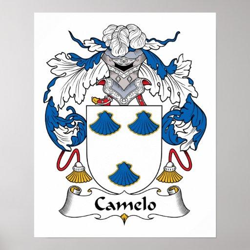 Crista da família de Camelo Posteres