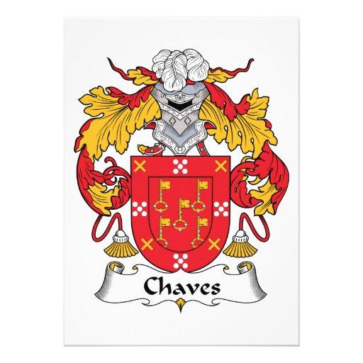 Crista da família de Chaves Convite