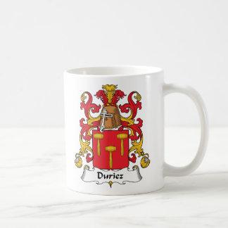 Crista da família de Duriez Caneca