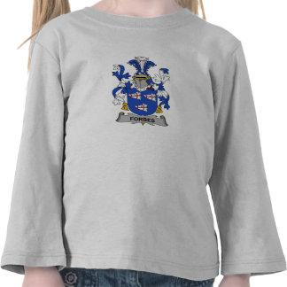 Crista da família de Forbes T-shirt