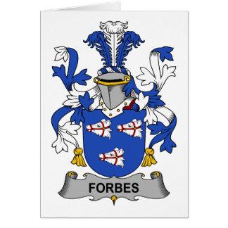 Crista da família de Forbes Cartoes