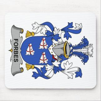 Crista da família de Forbes Mouse Pads