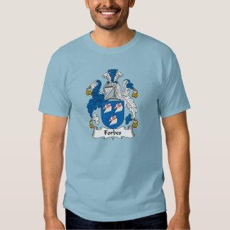 Crista da família de Forbes T-shirts
