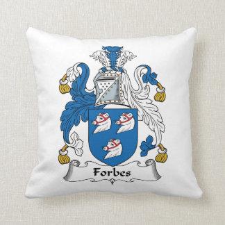 Crista da família de Forbes Travesseiro