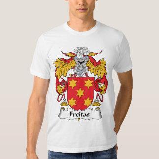 Crista da família de Freitas Tshirt