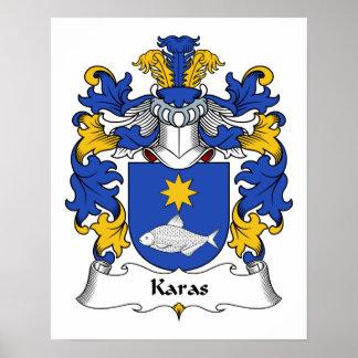 Crista da família de Karas Pôster