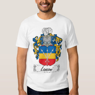 Crista da família de Lanzoni Tshirts
