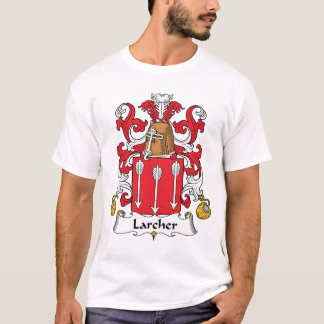 Crista da família de Larcher Camiseta