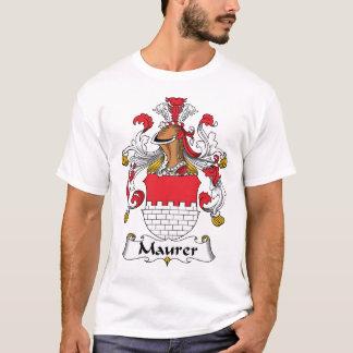 Crista da família de Maurer Camiseta