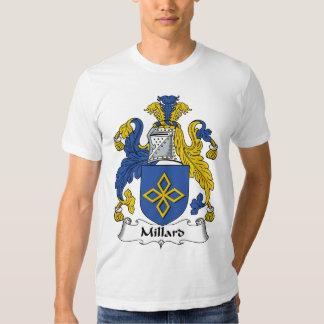 Crista da família de Millard T-shirt