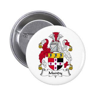 Crista da família de Mundy Botons