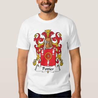 Crista da família de Pottier Tshirts