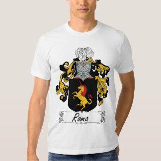 Crista da família de Roma T-shirt