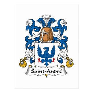 Crista da família de Santo-Andre Cartão Postal