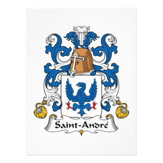 Crista da família de Santo-Andre Convite