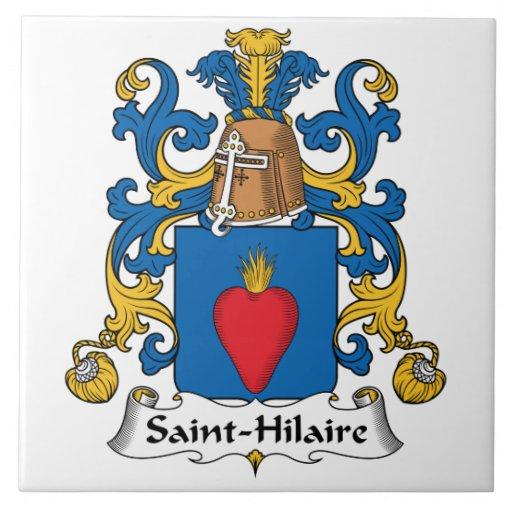 Crista da família de Santo-Hilário Azulejos