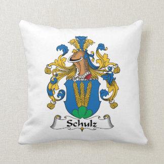 Crista da família de Schulz Almofada