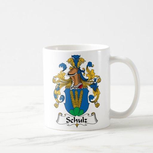 Crista da família de Schulz Caneca