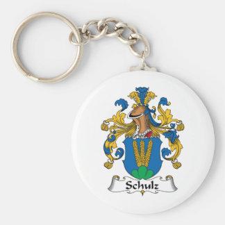 Crista da família de Schulz Chaveiros