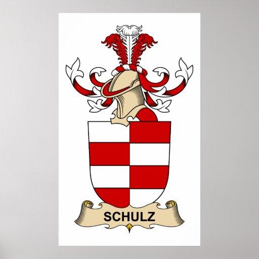 Crista da família de Schulz Pôsteres