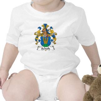 Crista da família de Schulz Macacãozinhos Para Bebê