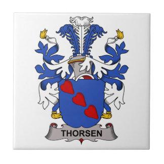 Crista da família de Thorsen