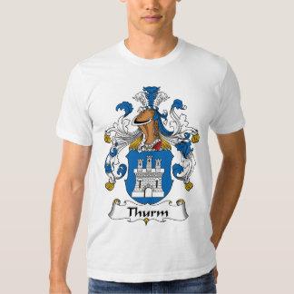 Crista da família de Thurm Camiseta