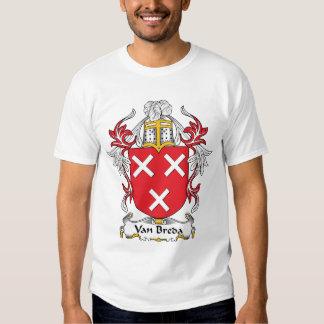 Crista da família de Van Breda T-shirt