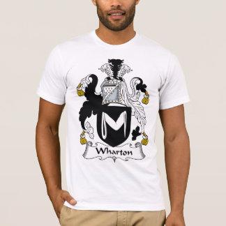 Crista da família de Wharton Camiseta