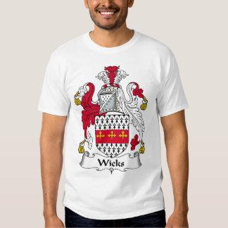 Crista da família dos feltros de lubrificação camisetas