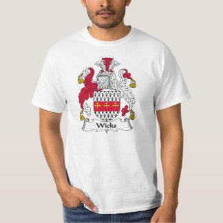 Crista da família dos feltros de lubrificação t-shirts