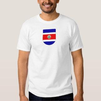 Crista de Costa Rica T-shirts
