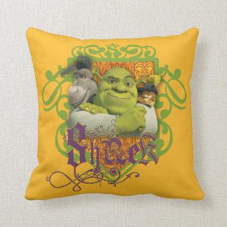 Crista do grupo de Shrek Almofada