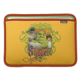 Crista do grupo de Shrek Bolsa De MacBook Air