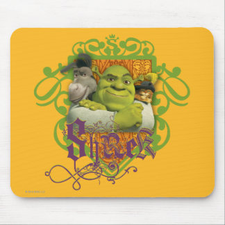 Crista do grupo de Shrek Mouse Pad