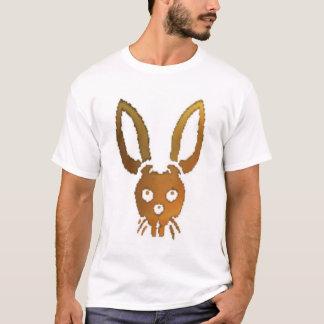 Crista mortal dos coelhos (preto) camiseta