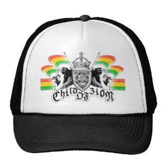 Crista real da reggae de Rasta Boné