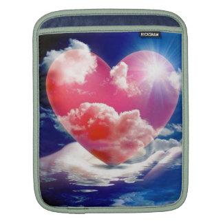 cristallo di cuore bolsa de iPad