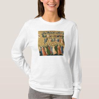 Cristo glorificado na corte do céu camiseta