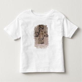 Cristo na majestade com símbolos do camisetas