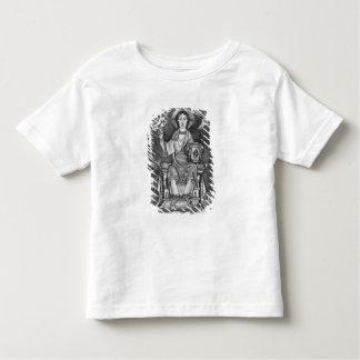 Cristo na majestade, de um Benedictional Camisetas