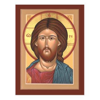 Cristo o cartão do salvador cartão postal