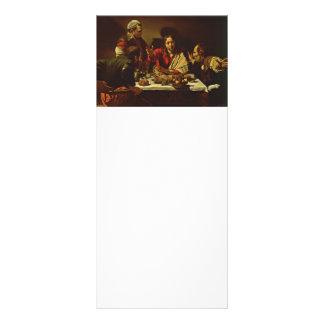 Cristo que janta em Emmaus 10.16 X 22.86cm Panfleto