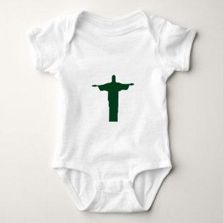 Cristo Redentor_green Body Para Bebê
