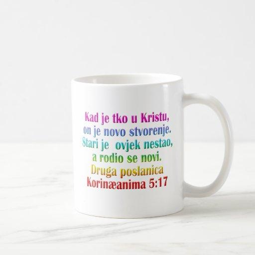 Croata do 5:17 de 2 Corinthians Caneca