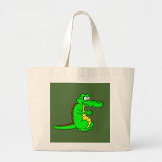 Croc dos desenhos animados sacola tote jumbo