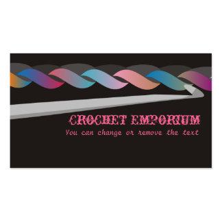 crochet crafting brinquedos cartão de visita da fo